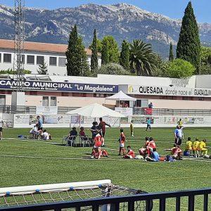 Rótulos campo de fútbol de Quesada
